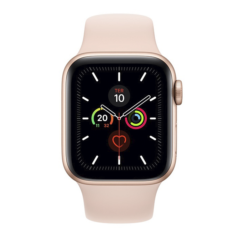 Apple Watch Series 5 Pulseira Esportiva Rosa MWV72
