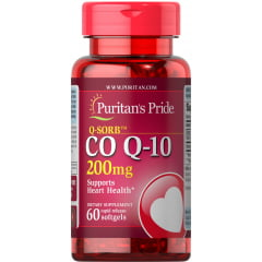 Coenzima Co Q-10 200mg Puritans Pride 60 Softgels