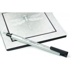 Borracha Tombow Mono Zero 2.3mm Silver Body