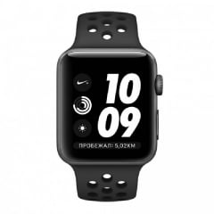 Apple Watch Series 3 Nike Sport 42mm Anthracite Preto