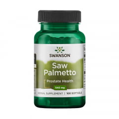 Saw Palmetto 540mg 100 Cápsulas Swanson