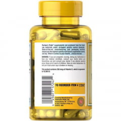 Vitamina D3 125mcg 5000IU Puritans Pride 200Softgels Sup