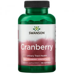 Cranberry Concentrado Swanson 180 Softgels