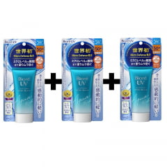 Protetor Solar Kit 3x Bioré Uv Aqua Rich Watery Essence 50g Spf50