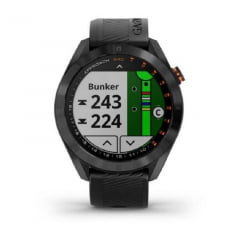 Relógio Smartwatch Approach S40 Golf Garmin Black