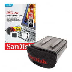 Pen Drive Sandisk Ultra Fit Usb 3.0 64gb 150mb/s