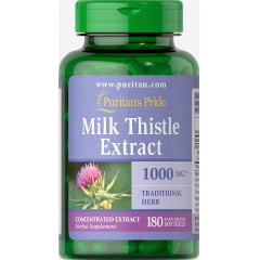 Silimarina 1000mg Milk Thistle Puritans Pride 180 Softgels - TopShop