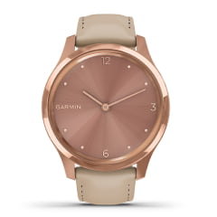 Relógio Smartwatch Garmin Vivomove Luxe Light Sand