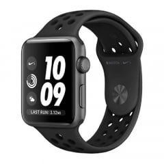 Apple Watch Nike+ Series 3 38mm Pulseira Preta MQKY2LL/A
